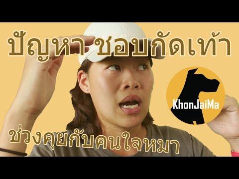 ช่วงคุยกับ Khon Jai Ma | ปัญหาชอบกัดเท้า