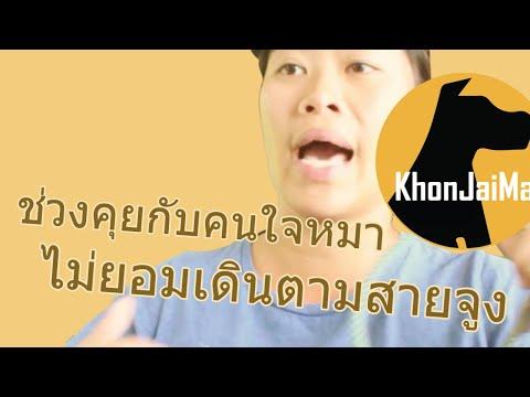 ช่วงคุยกับ Khon Jai Ma | ปัญหาน้องหมาในฝูง 3 ตัวไม่ยอมเดินตามสายจูง