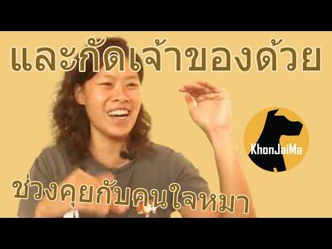 ช่วงคุยกับ Khon Jai Ma | ปัญหาหมาน้องหมาเข้ากับหมาตัวใหม่ไม่ได้ และกัดเจ้าของด้วย