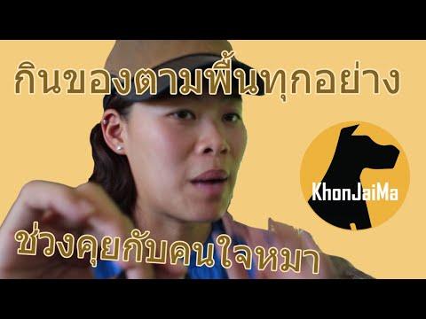 ช่วงคุยกับ Khon Jai Ma | ปัญหาชอบกินของตามพื้นทุกอย่าง